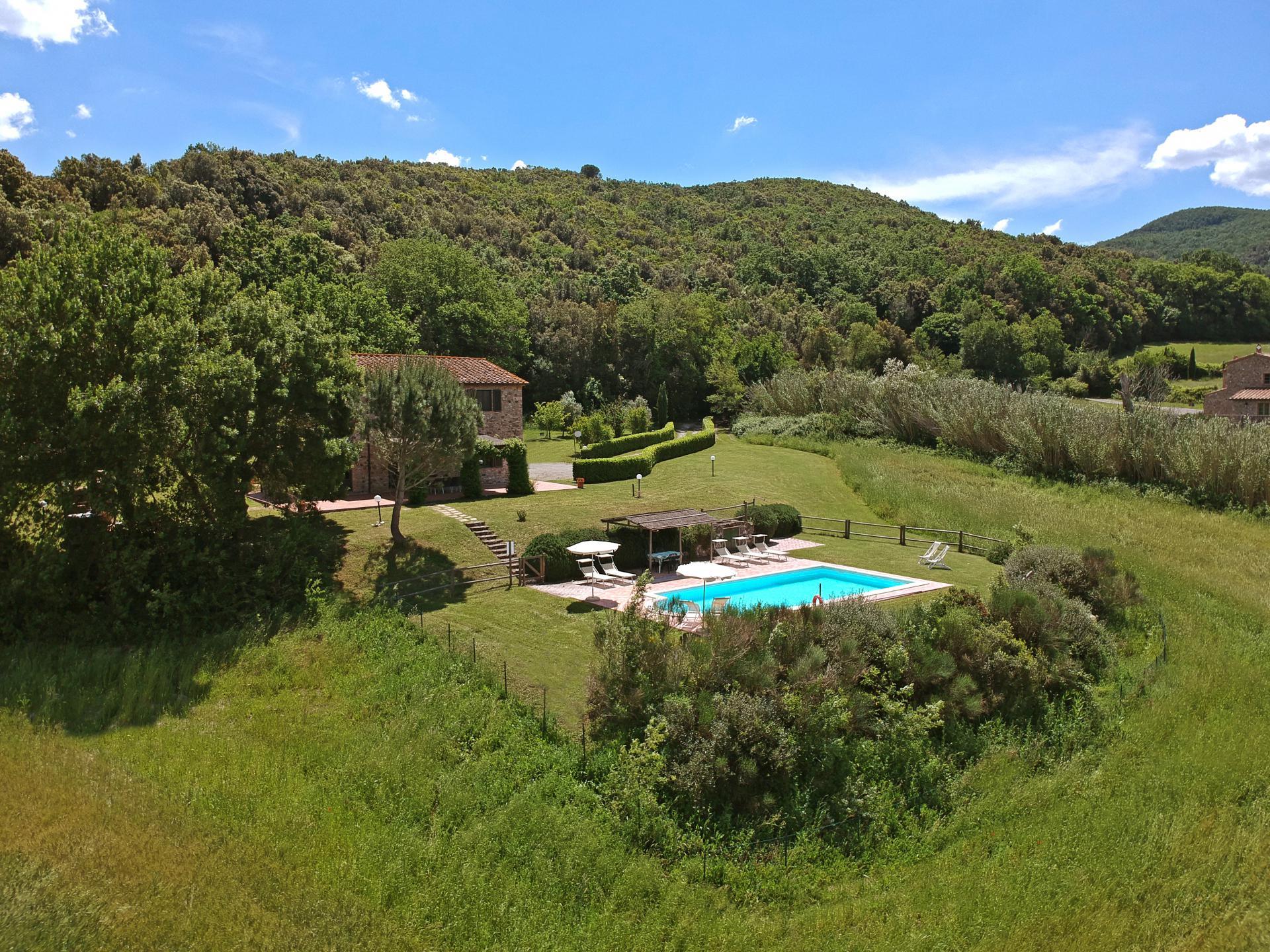 Villa Casale Marittimo