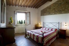 Slaapkamer appartement Papavero