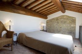 Slaapkamer op Vide appartement Papavero