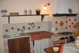 Küche Wohnung Il Melograno