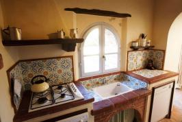 Küche Wohnung L'Aiuola