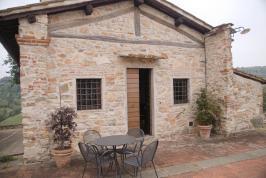 Terras appartement La Capriata