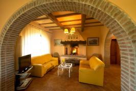 Freistehendes Ferienhaus mit Pool bei Pisa