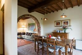 freistehendes Ferienhaus mit Pool in der Toskana