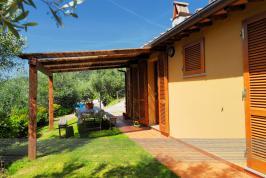 Vakantiehuis bij Pisa met ruime tuin en terras