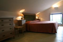 Schlafzimmer Villa Montepulciano