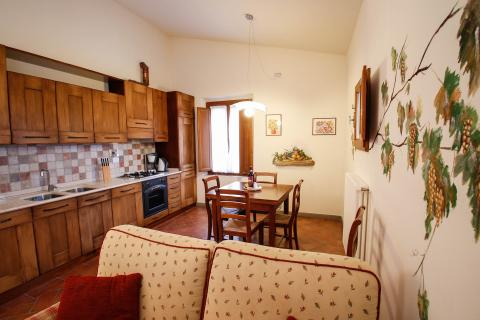 Authentiek appartement met airco Florence