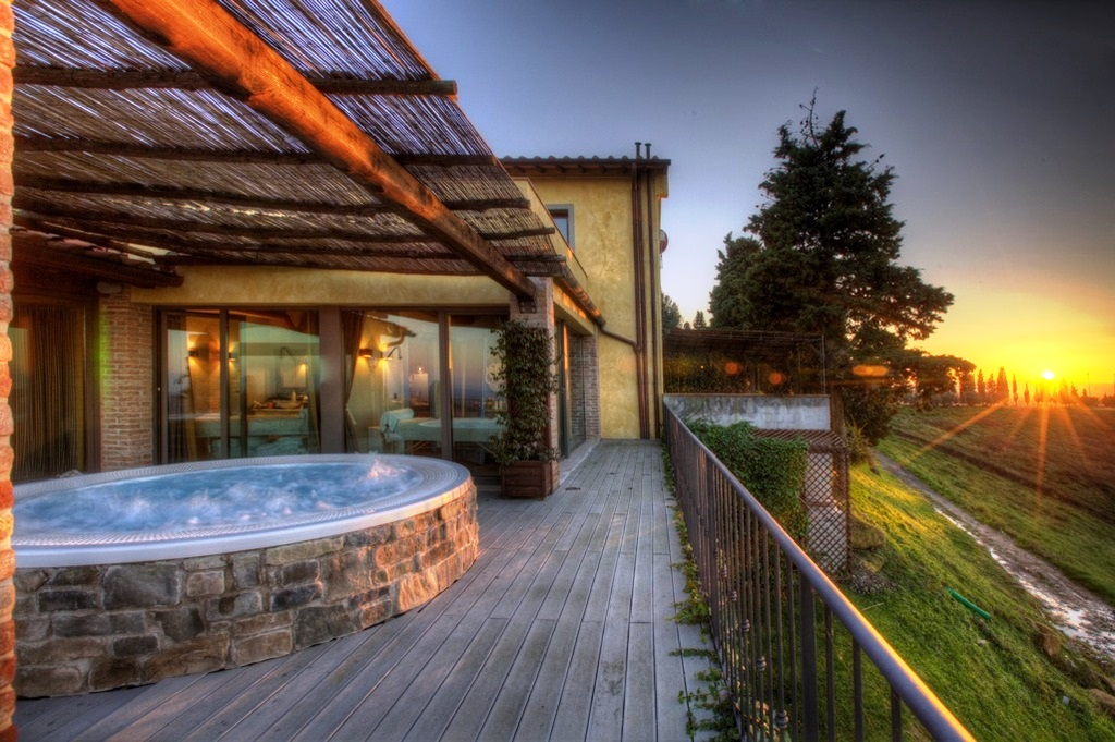 Toscane wellness en spa accommodatie in Montaione